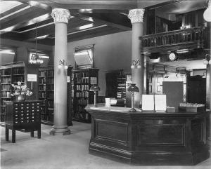 Carnegie Library - Whittier Public Library -1907 - Interior