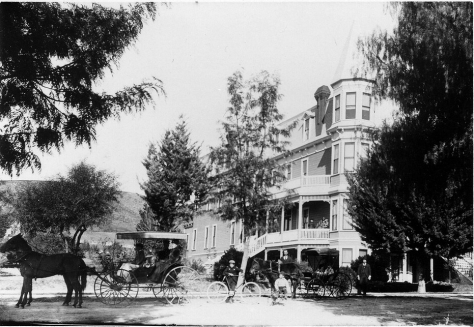 Greenleaf Hotel on Painter St., Whittier, CA