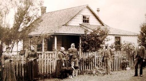Jonathan Bailey House - Whittier Historic Landmark #6