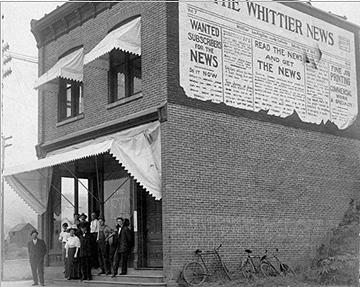 Moses Ricker Building -The Whittier News