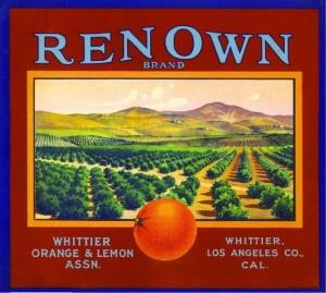 Renown Brand - Whittier Citrus Assn.