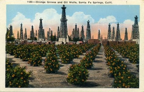 Santa Fe Springs Oil Wells