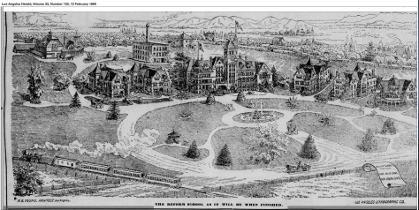 The Whittier State Reform School - Fred C. Nelles School