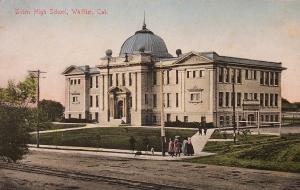 Whittier High School -1905