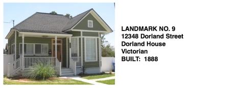 12348 Dorland St. - Dorland House, Victorian, Whittier Historic Landmark #9