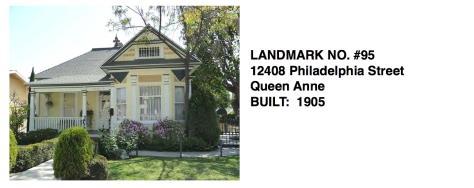 12408 Philadelphia Street - Queen Anne, Whittier Historic Landmark #95