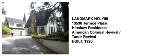 13536 Terrace Place, Whittier Historic Landmark #99