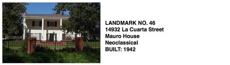 14932 La Cuarta Street, Whittier Historic Landmark #46