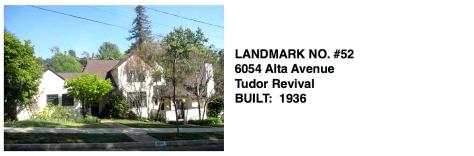6054 Alta Avenue, Whittier Historic Landmark #52