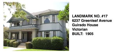 6237 Greenleaf Avenue - Guirado House, Victorian style, Whittier Historic Landmark #17