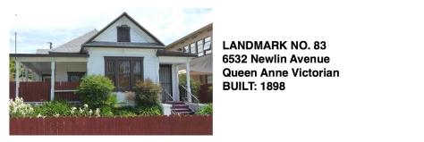 6532 Newlin Ave. - Queen Anne Victorian, Whittier Historic Landmark #83