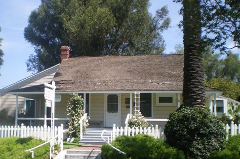 Jonathan Bailey House, Whittier CA - listed in the National Register of Historic Places